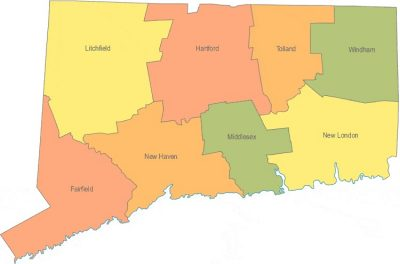 connecticut-county-map